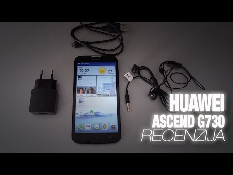 Huawei Ascend G730 Video Recenzija