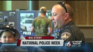 Nation Police Week starts by honoring Sgt. Moore