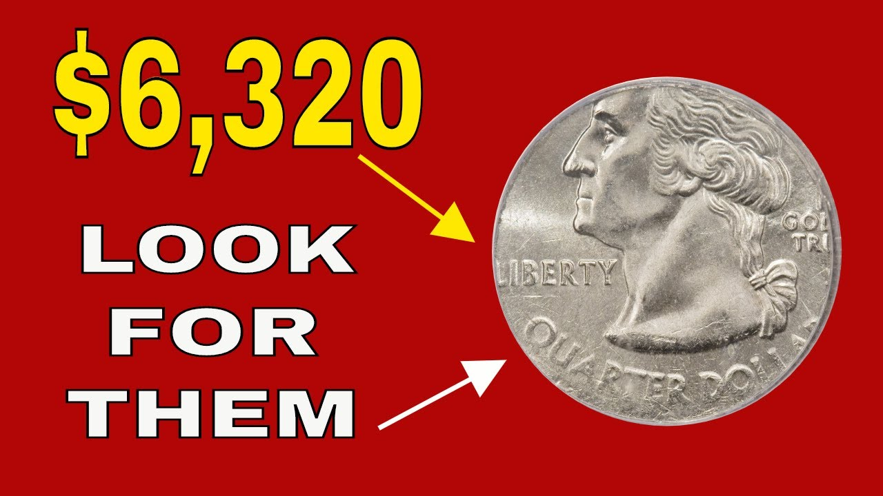 Rare 2000 Quarters worth great money! Valuable quarters to look for!