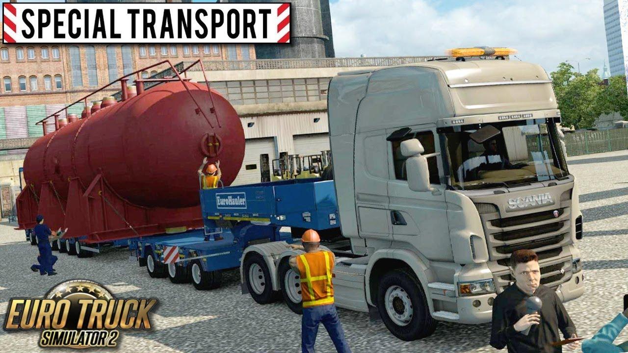 zlecenie 39 39 special transport 39 39 euro truck simulator 2. Black Bedroom Furniture Sets. Home Design Ideas