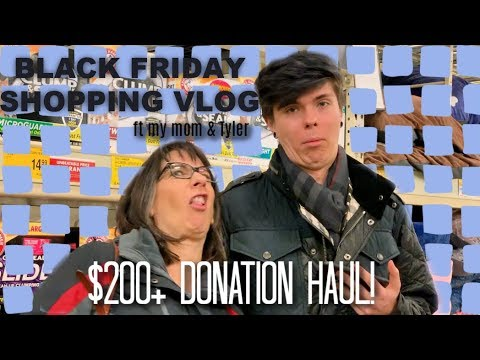BLACK FRIDAY $200+ PET SUPPLY HAUL | Tyler Rugge & My Mom