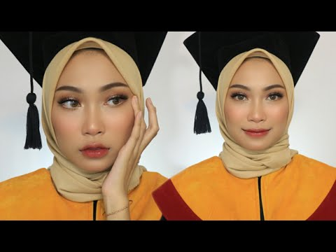 MAKEUP WISUDA/PROM/GRADUATION (Flawless Tahan 12 JAM!!) | atamipuspa - YouTube