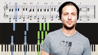 OneRepublic Rich Love With Seeb Piano Tutorial SHEETS