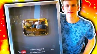 1 Million Subscriber Play Button!