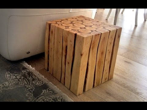 Wood Project: How To Make A Stylish Wooden Side Table PART 1