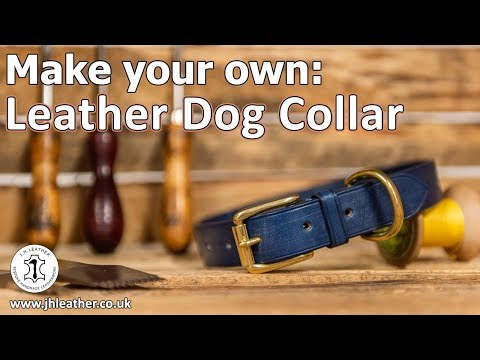 Make Your Own: Leather Dog Collar - Beginner Tutorial