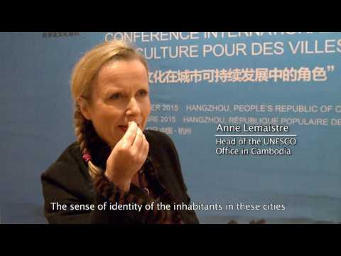 Anne Lemaistre, Head of the UNESCO Office in Cambodia