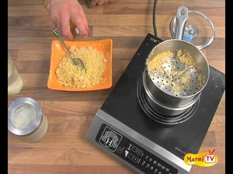 Cuire de la semoule de couscous