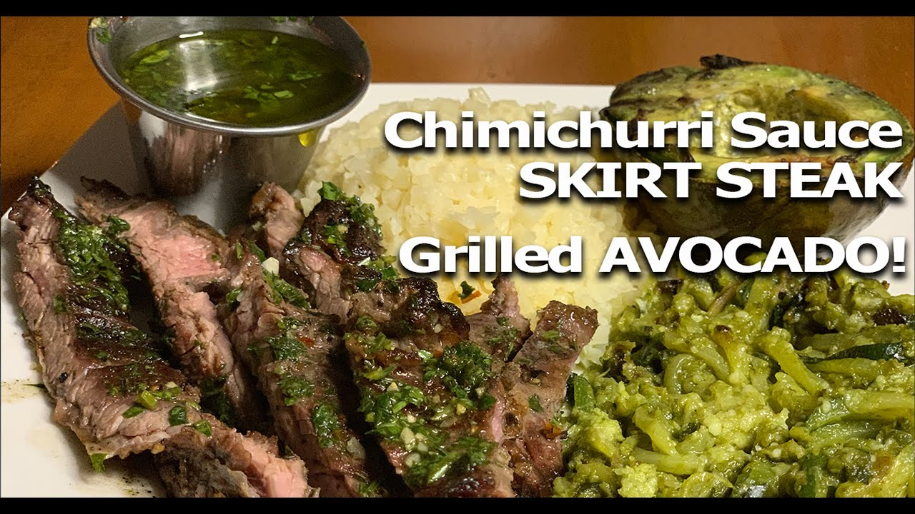 Lucky New Year's Day recipe: Pork with kale chimichurri and black ...