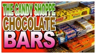 Chocolate Bars at The Candy Shoppe