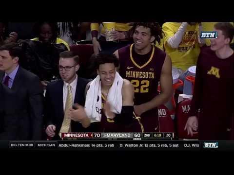 Minnesota at Maryland - Men's Basketball Highlights