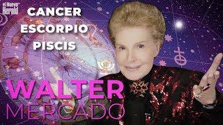 Cancer, Escorpio y Piscis: Predicciones de Walter Mercado para el año 2019
