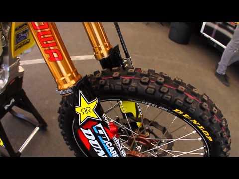 Inside Davi Millsaps' Rockstar Energy Racing Suzuki - Transworld Motocross