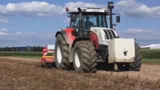 Najważniejsze kombajny w rolnictwie, potężne ciągniki i kombajny, nowoczesny park maszynowy