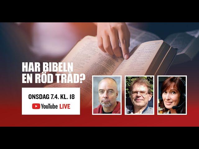 Har Bibeln en röd tråd? Erik Wahlström, Ola Hössjer och Wivan Nygård-Fagerudd