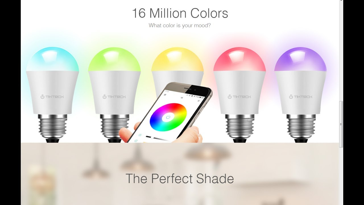 Smart WiFi Color LED Bulb | Color LED Bulb | LED Smart Bulb | LED Bulb |  $9.99
