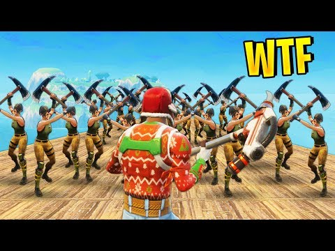 100 PLAYERS ON A SKYBASE | Fortnite Best Stream Moments #37 (Battle Royale)