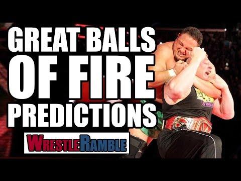 How WWE Should Book Samoa Joe vs Brock Lesnar! WWE Great Balls Of Fire Predictions! | WrestleRamble
