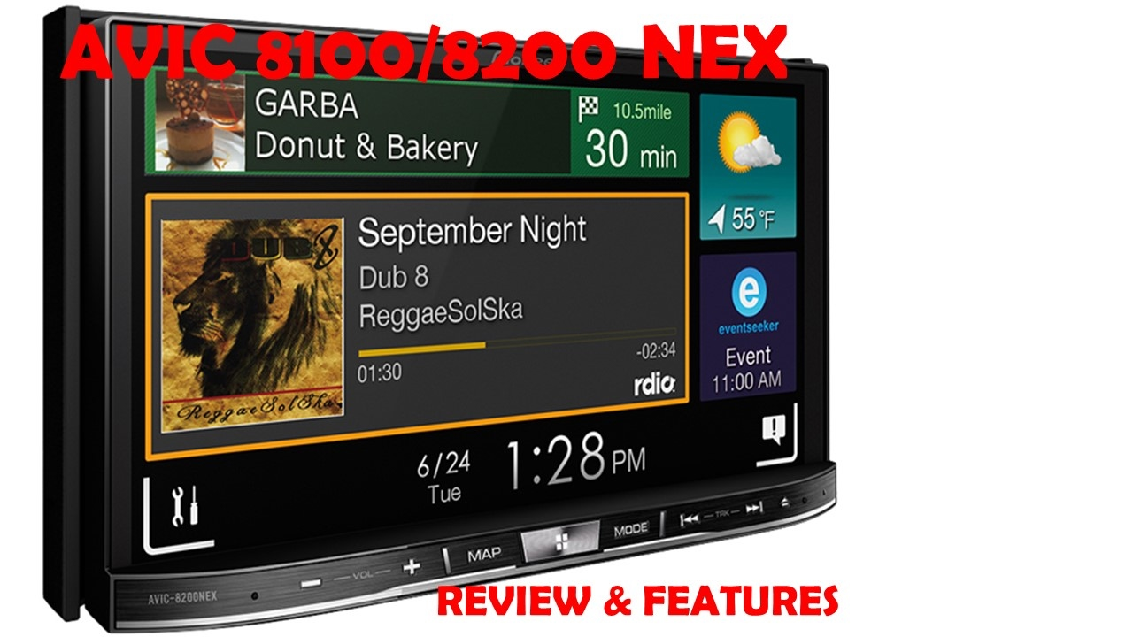 Pioneer AVIC-8100 / 8200 NEX Review and Features - YouTube