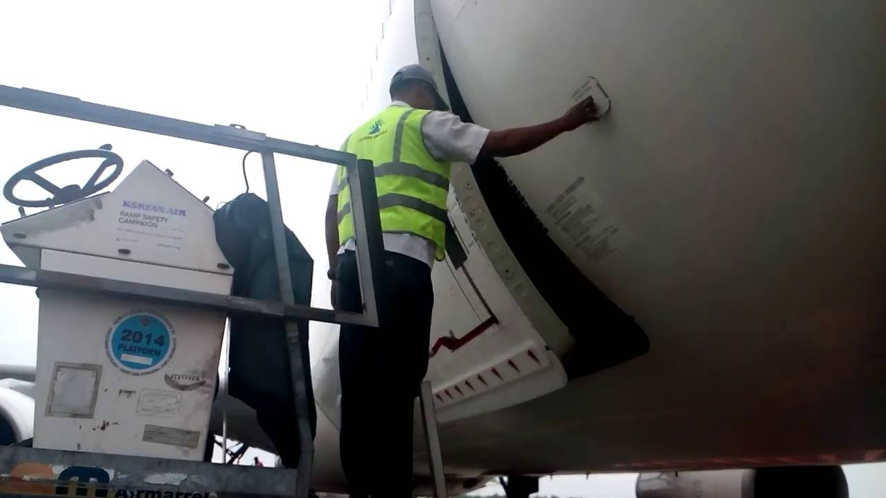 Opening Cargo Door A330 TG CGK & Opening Cargo Door A330 TG CGK - YouTube pezcame.com