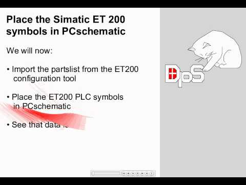 hqdefault electrical cad simatic et200s plc to pcschematic automation youtube siemens et200sp wiring diagrams at cos-gaming.co