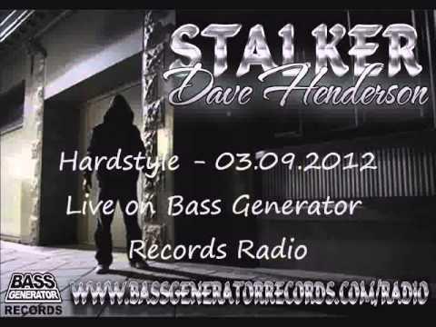 Dave Henderson - DJ Stalker BGR Radio 03/09/2012