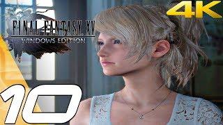 FINAL FANTASY XV (PC) - Gameplay Walkthrough Part 10 - Cape Caem & Malmalam Thicket [4K 60FPS]