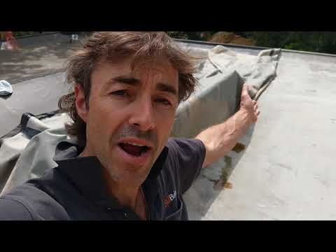 The Trouble With Flat Roofs Including Fibre Glass