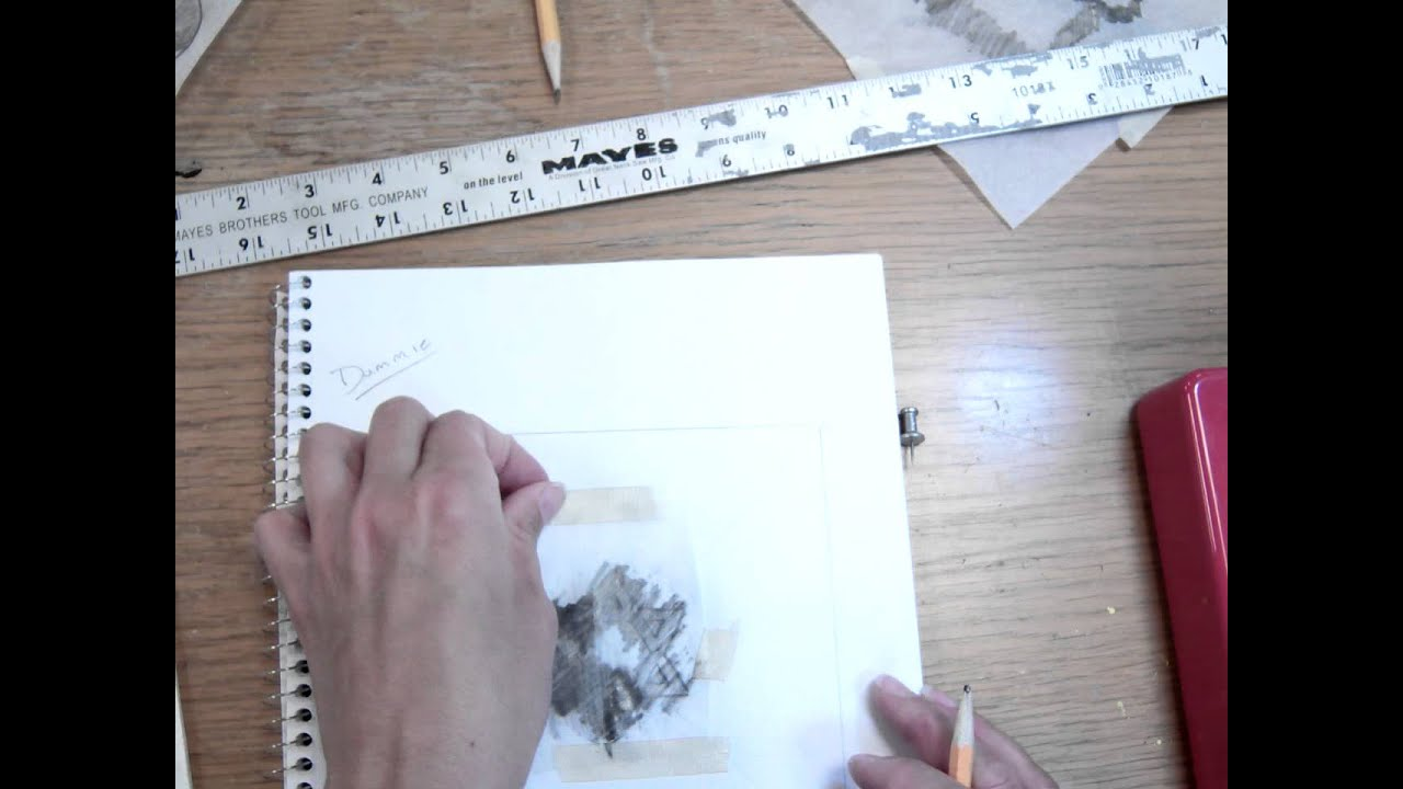 Tracing Paper Transfer Mov Youtube