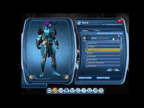 DCUO  Avatar of Sin : Head Style Horns