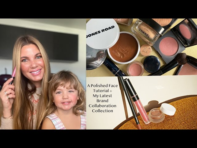 A Polished Face Tutorial + My Latest Brand Collaboration Collection!