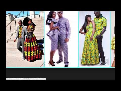 Fantastic African fashion ideas for couples in 2018