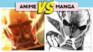 Attack on Titan Differences Anime Vs. Manga - Fall of Shiganshina Arc  | Channel Frederator