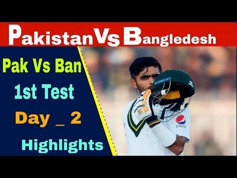 Pakistan Vs Bangladesh 1st Test Match 2020 2nd Day Full Anal