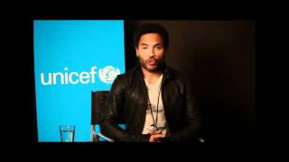 Lenny Kravitz joins Unicef's water and sanitation campaign