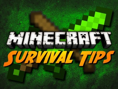 Minecraft: TIPS FOR FIGHTING MOBS IN HUNGER GAMES SURVIVAL!