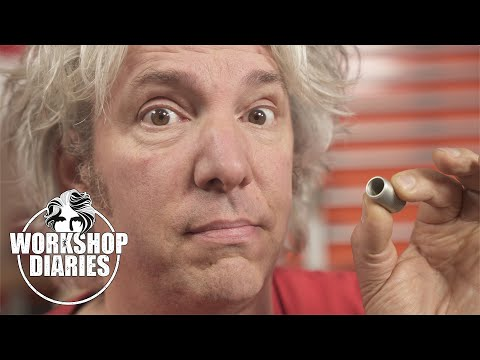 could this tiny tube of metal fix our broken suspension? - edd china's workshop diaries 28