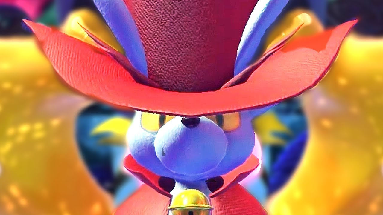 4 Daroach Are OP in Kirby Star Allies (16 Mice vs All Bosses + Final Boss) Soul Melter Difficulty