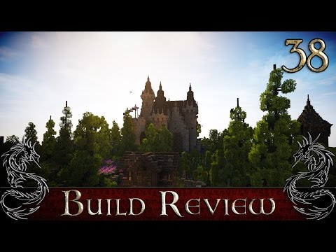 Minecraft Build Review 38: ImFlareYT & SL_Imthyac- French Chateau