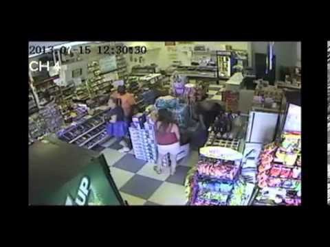 RAW VIDEO: Suspect Sought in Kidnapping, Battery