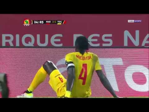 CAN 2017  Maroc vs Togo 3 - 1