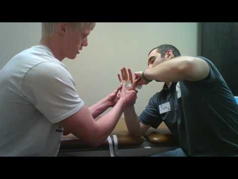 5th Metacarpal Dorsal Glide Taping Technique
