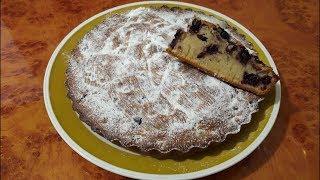Пирог с черноплодной рябиной.