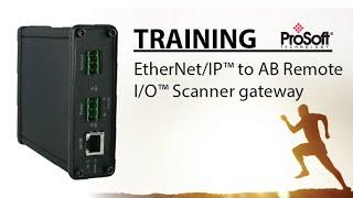 Set Up: für EtherNet/IP™ AB Remote I/O™ - Scanner-gateway