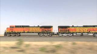 High speed freight train Texas