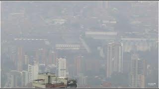 Calidad del aire en el Valle de Aburrá [En Portada] - Telemedellín