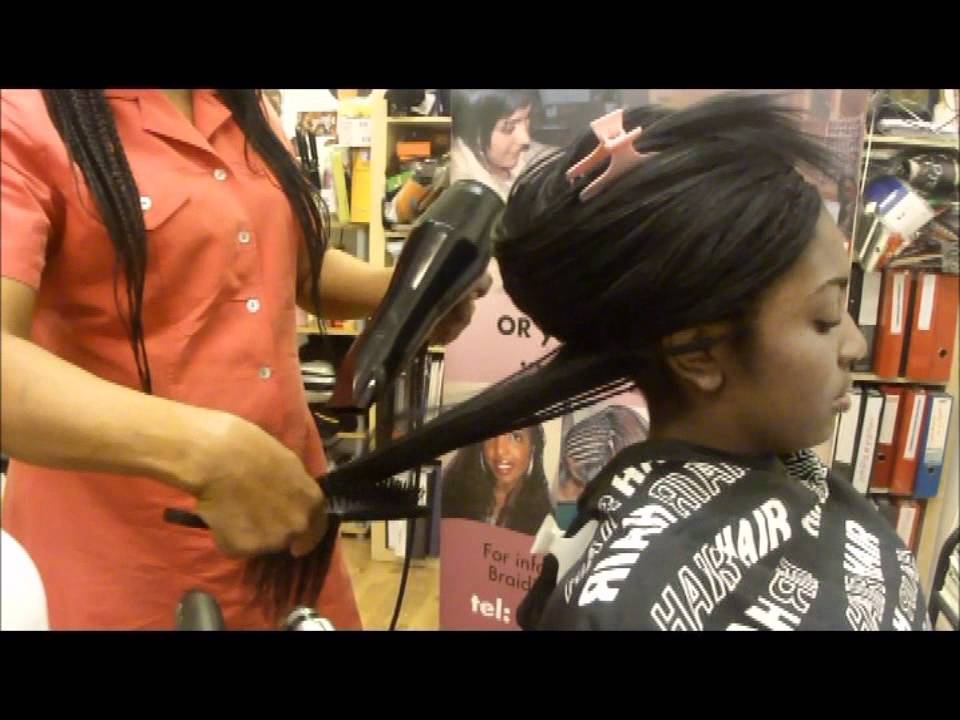 Styling Tree Braids Plaits With 100 Human Hair Without