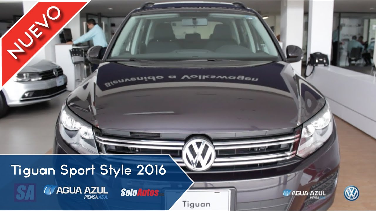 tiguan sport style 2016 vw youtube. Black Bedroom Furniture Sets. Home Design Ideas