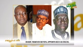 Buhari Removes Seiyefa , Appoints Bichi As DSS D.G