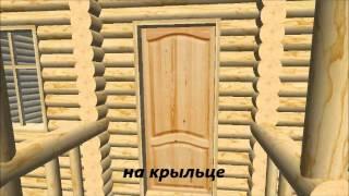 "Дом с мансардой, проект ""сруб Чухломский"""